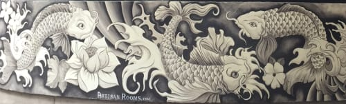 Artisan Rooms - Murals and Art
