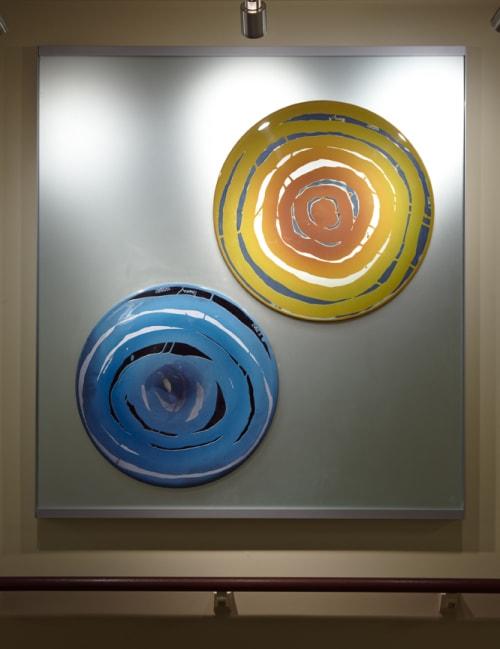 Art & Wall Decor by Arlan Huang seen at Laguna Honda Hospital and Rehabilitation Center, San Francisco - Glass Panels