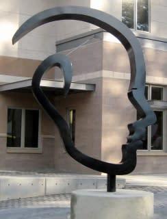 Public Sculptures by CJRDesign at Ashland Fire & Rescue Station No.2, Ashland - Open Minded