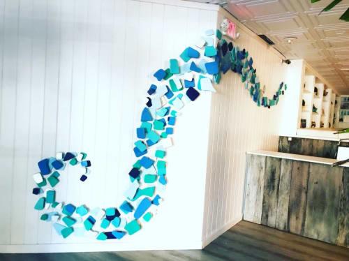Wall Hangings by Ari Robinson at Nikki Beach Miami, Miami Beach - Contemporary Artwork