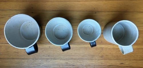 Cups by Len Carella seen at Wildcraft Espresso Bar, San Francisco - Coffee Mug