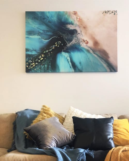 Paintings by ANTUANELLE seen at Private Residence, Bondi - Rise Above Original