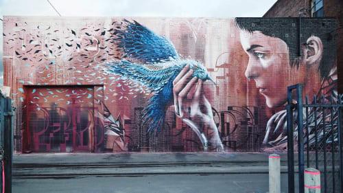 Christina Angelina - Murals and Art