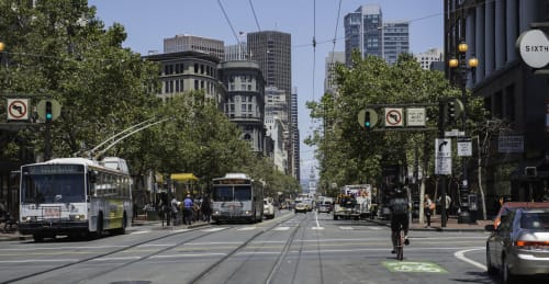 Market Street, SF, Urban Canvases, Interior Design