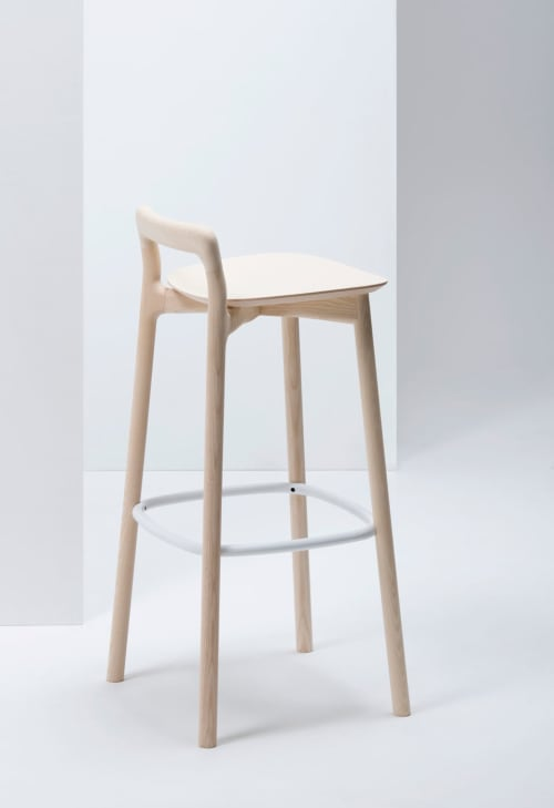 Chairs by Mattiazzi Italy at Rech by Alain Ducasse - Branca Stools