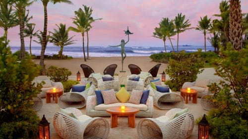 Couches & Sofas by Kenneth Cobonpue at The St. Regis Bahia Beach Resort, Puerto Rico - Lolah Easy Armchair And Loveseat