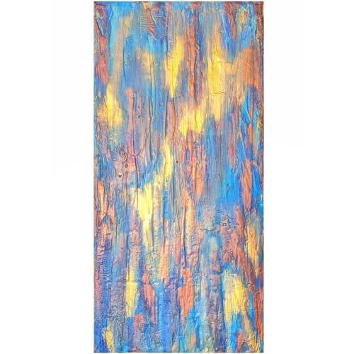 Paintings by Soulscape Art seen at Nuu Muse Gallery, Dallas - Sanskara