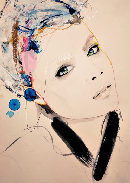 Paintings by Leigh Viner seen at Private Residence, Tulsa - Abiding and Paolo Roversi Series 1