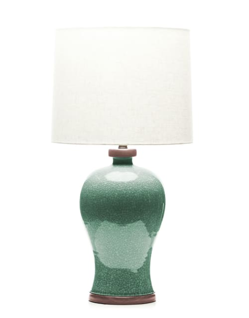 Lamps by Lawrence & Scott seen at Lawrence & Scott, Seattle - Dashiell Table Lamp