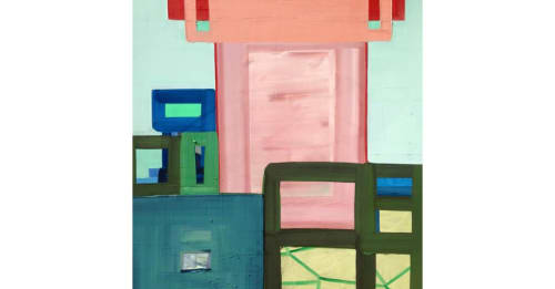 Paintings by Ashlynn Browning seen at The Durham Hotel, Durham - Building, 2015