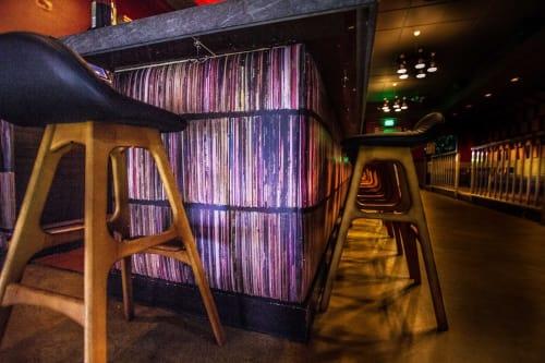 Interior Design by C. Walters Design seen at Vinyl Room, Burlingame - The Bar Façade