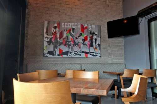 Art Curation by Jude Smith - The Art Makery seen at Pink Pony Scottsdale, Scottsdale - Art Curation
