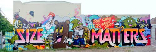 Dabs Myla - Murals and Art