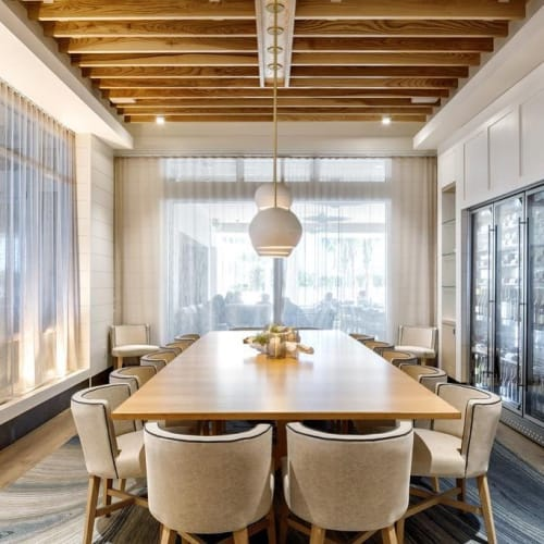 Pendants by lightexture seen at Hutchinson Shores Resort & Spa, Jensen Beach - Claylight Pendants