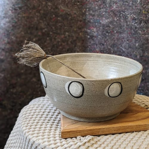 Tableware by Ceramicsbytiz seen at Tallinn, Tallinn - Large Stone Salad Bowl