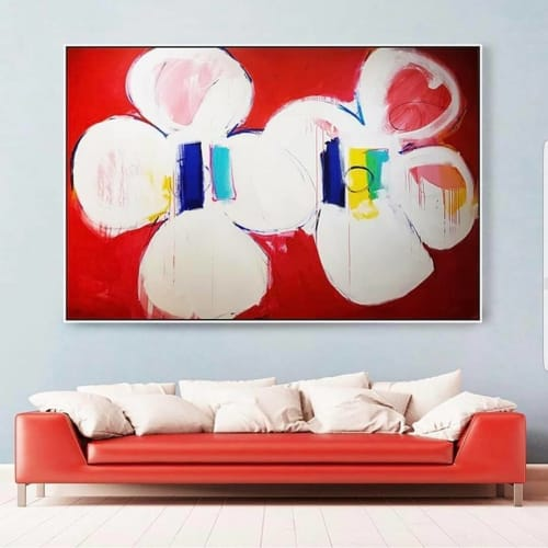 Paintings by Peter Triantos seen at Private Residence, Toronto - Untitled #80
