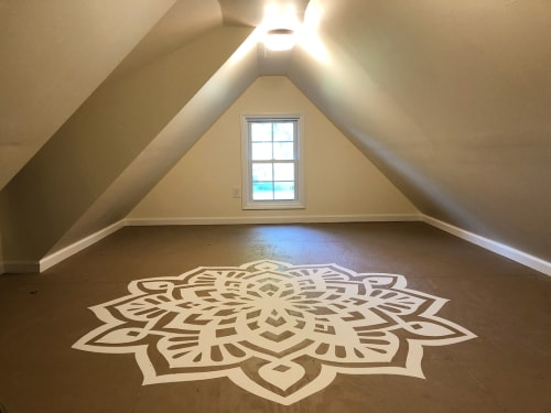 Art & Wall Decor by Peter Ferrari seen at Green Bough House of Prayer, Adrian - Mandala