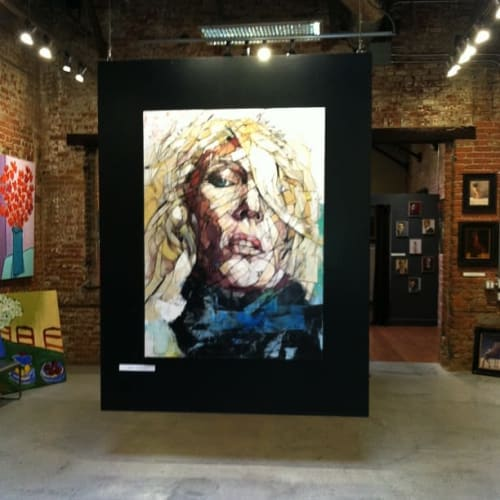"""Paintings by Aiden Kringen seen at The Christopher Hill Gallery, St. Helena - """"If only she knew"""""""