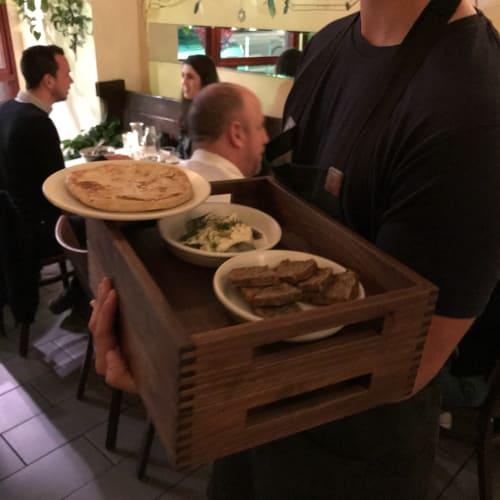 Tableware by José Regueiro Studios seen at Duna, San Francisco - Stackable Trays
