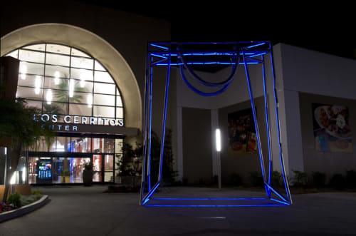 Sculptures by Brian Tolle seen at Los Cerritos Center, Cerritos - Remembering Walter H. Deubner