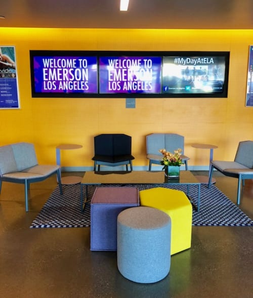 Interior Design by Lori Erenberg seen at Emerson College Los Angeles Center, Los Angeles - Interior Design