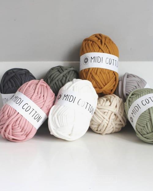 Linens & Bedding by WolletjeBol seen at Efteling, Kaatsheuvel - Cream 8mm Cotton Throw