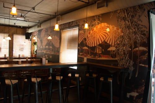 Broncos, Restaurants, Interior Design