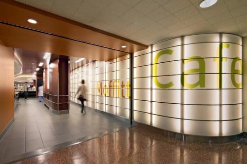 Moffitt Cafe - UCSF Medical Center, Cafè, Interior Design