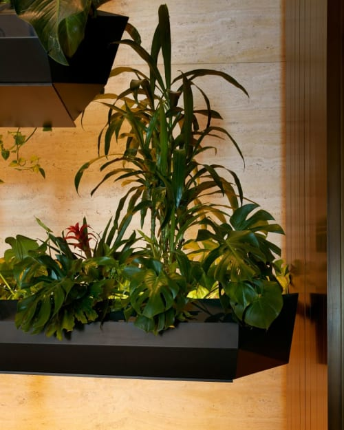 Plants & Landscape by Paula Hayes seen at Seagram Building, New York - Canoes
