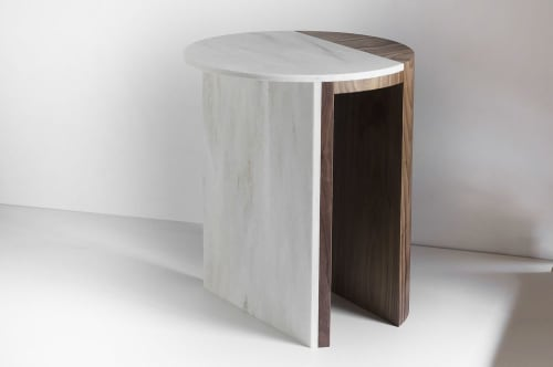 Tables by Robert Sukrachand at west elm, New York - Gibbous Side Table