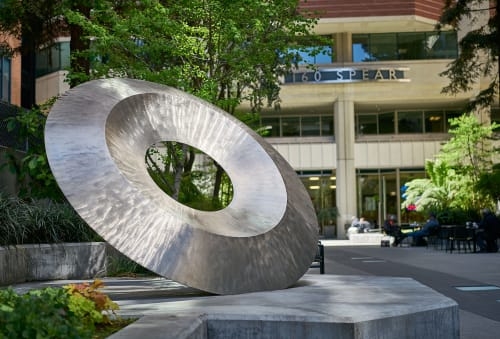 Public Sculptures by Roger Berry seen at 160 Spear St., San Francisco, CA, San Francisco - Tau