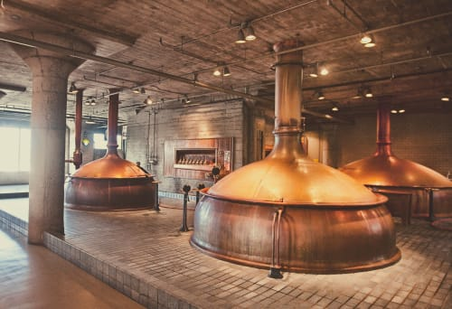Anchor Brewing Company, Restaurants, Interior Design
