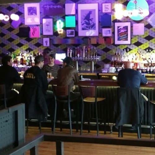 Zig Zag | Wallpaper by Detroit Wallpaper | Bobcat Bonnie's in Ferndale