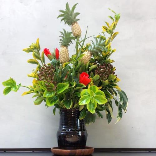 Floral Arrangements by The Petaler seen at Liholiho Yacht Club, San Francisco - Floral Arrangements