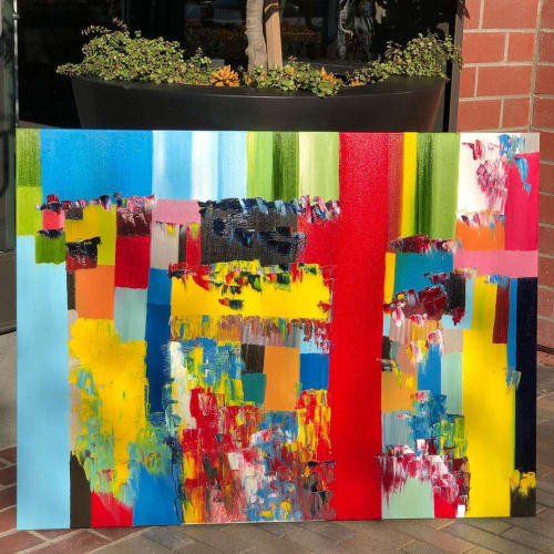 Carnival | Paintings by Hugo Auler Jr. Art