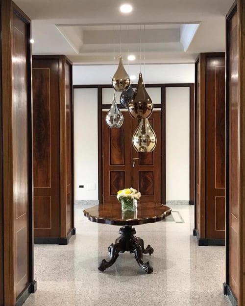 Pendants by Cangini & Tucci seen at Best Western Hotel Ferrari, San Vitaliano - Zoe