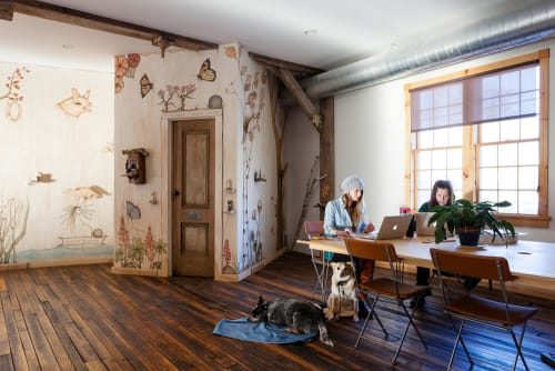 Etsy Office, Hudson NY, Offices, Interior Design