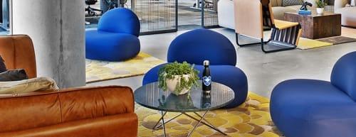 Tables by Dennis Marquart at Dropbox Headquarters SF, San Francisco - O Table