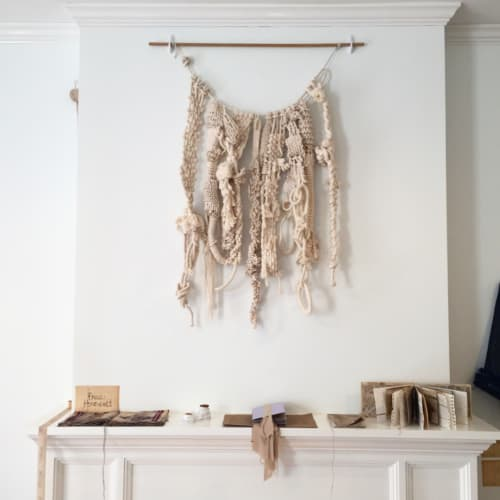 Macrame Wall Hanging by The Catskill Kiwi seen at Drop Forge and Tool, Hudson - Wall Hangings