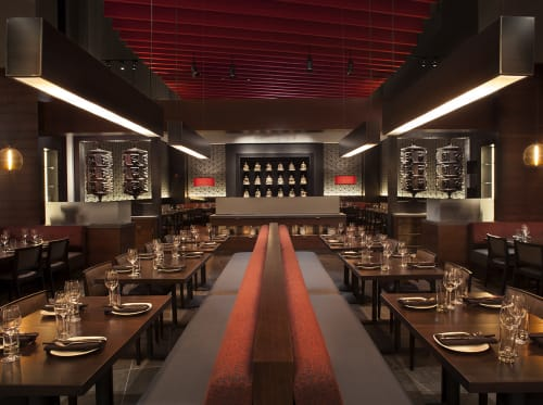 M.Y. China, Restaurants, Interior Design