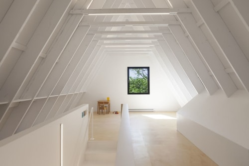 Interior Design by Jean Verville Architecte seen at Private Residence - FaHouse Architectural Design