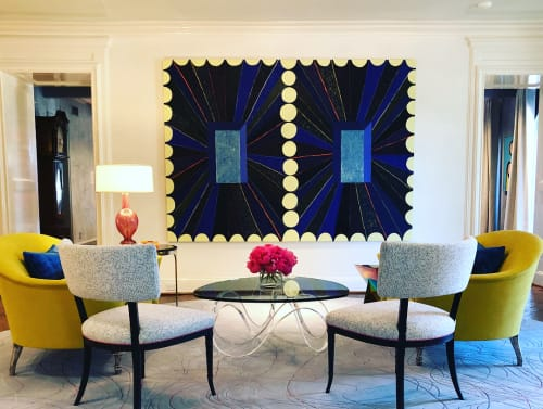 Paintings by Matt Kleberg seen at Private Residence, Fort Worth - Dash for the Timbre