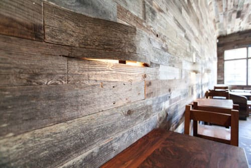 Sconces by Tucci Lighting Design seen at Outerlands, San Francisco - Custom LED wall Sconce