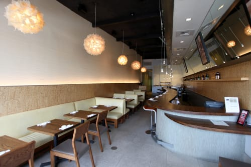 Pendants by Josh Urso Design seen at SUGARFISH by sushi nozawa, Marina del Rey - Puff