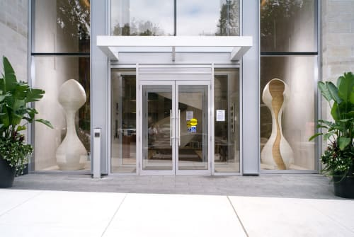 Sculptures by Rod Mireau at Pears On The Avenue, Toronto - Wooden Sculptures