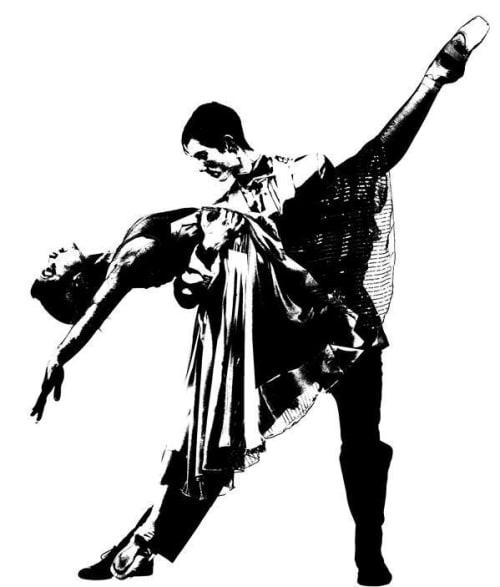Paintings by Blek le Rat seen at The Quin, New York - Art - Last Tango in Paris