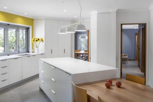 Interior Design by YOLK on the inside seen at Private Residence, Farrer - Kitchen Design