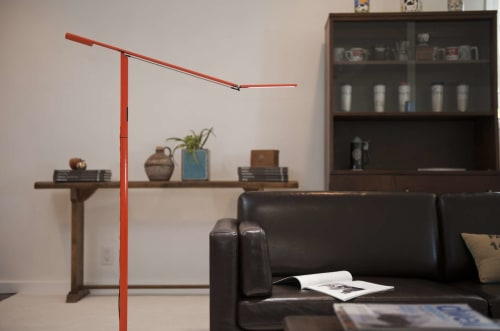 Lamps by Koncept seen at Private Residence, Madison - Equo Floor Lamp