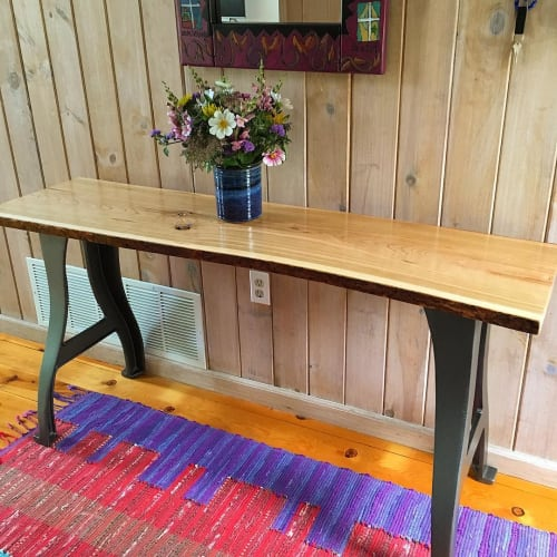 Tables by Stockton Heritage seen at Martha's Vineyard - Console Table