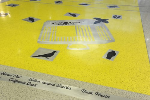 Art & Wall Decor by Lynn Criswell seen at Sacramento International Airport, CA, Sacramento - As the Crow Flies